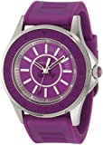 Juicy Couture Women's 1900873 Rich Girl Purple Jelly Strap Watch