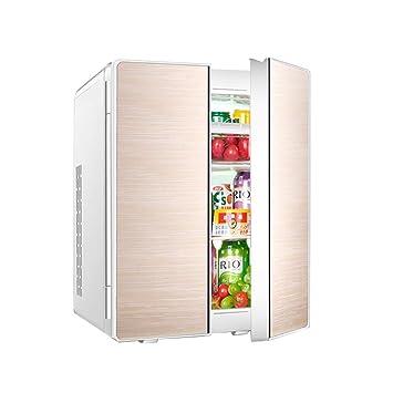 M_LRSSK Refrigerador portátil de Doble Puerta, congelador de 25 ...