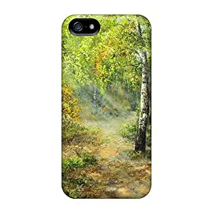 DaMMeke Design High Quality Autumn Birches Cover Case With Excellent Style For Iphone 5/5s