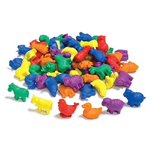 edx Education Farm Animal Counters - Pack of 72