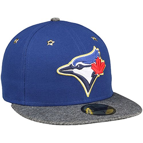 3cf9a99d2ad63a Amazon.com : 100% Authentic, NWT, Toronto Blue Jays New Era Royal Authentic  Collection 59FIFTY Fitted Hat Size: 7 3/8 : Sports & Outdoors