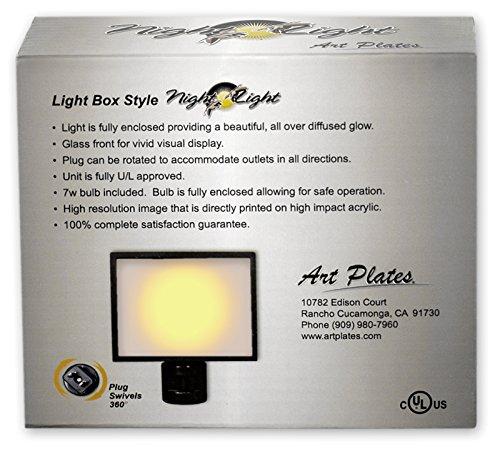 Art Plates NL-1003 Gas Station Signs Night Light