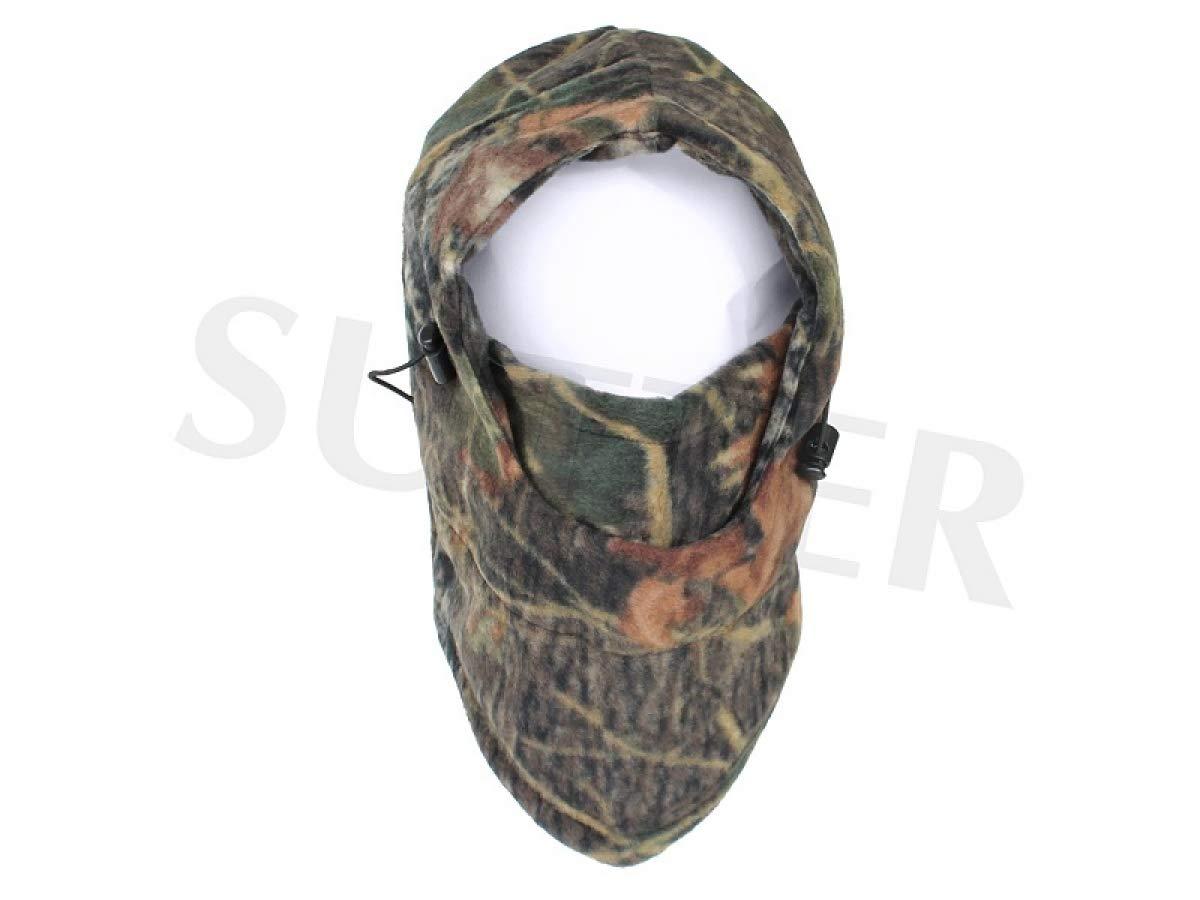 Berretto coprivolto, passamontagna e maschera coprivolto (pile) - Stile mimetico SUTTER