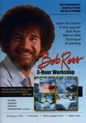 Bob Ross Joy of Painting Series: 3-Hour Workshop DVD English (Workshop Gems)