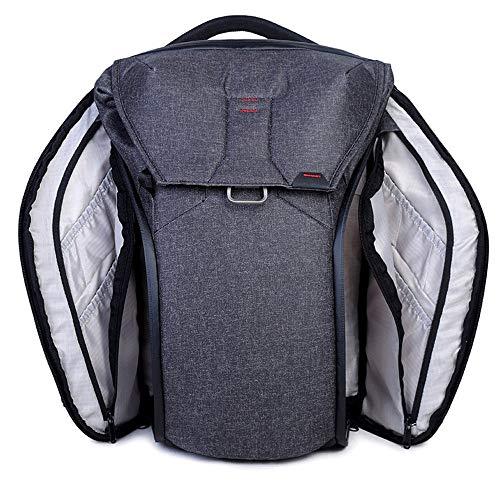Nobrannd SLR Vintage Camera Messenger Bag Multifunctional SLR Camera Bag Large Capacity Multi-lens Travel Camera…
