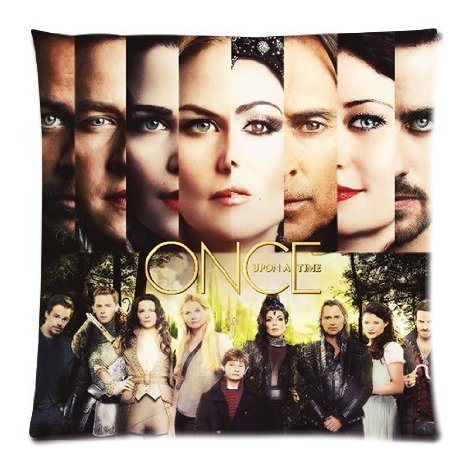 Once Upon a Time federa Custom Zippered Pillow Cases 50,8 x 50,8 cm due lato stampa