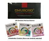 (20) Pack Omuboro Precious Essence Botanical Beverage Mix Pomegranate Powder with Butea Superba + FREE (5) Box BetterMan Anion Condom