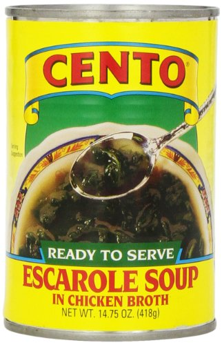 Cento Escarole Soup, 14.75 Ounce Cans (Pack of 12) (Sugar Free Tomato Soup)