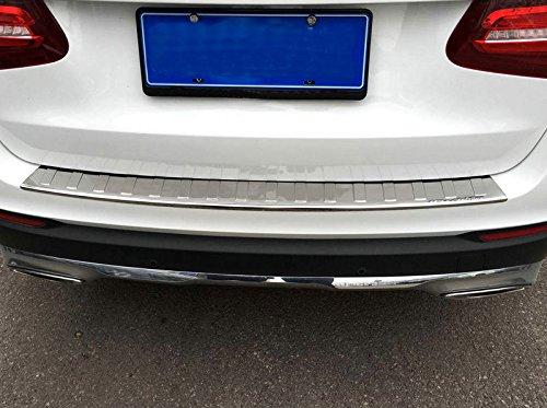 YUZHONGTIAN 2015 2016 2017 2018 2019 For Mercedes Benz GLC-Class X253 Rear Outer Bumper Guard Sill Plate Protector Steel Chrome