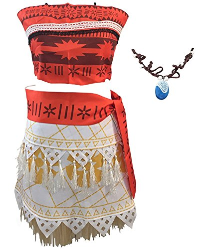 Adult Adventure Costumes Jacket (Halloween Cosplay Costume Skirt Set with Necklace for Women Girls (XL))