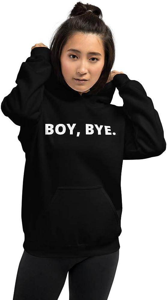 BOY Bye Funny Womens Hoodie by Ashleys Bliss