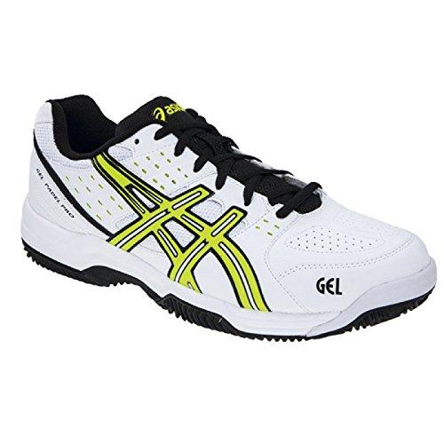 ASICS Gel-Padel Pro 2 SG, Zapatillas para Hombre, Negro/Blanco / Rosa/Gris, 41.5 EU: Amazon.es: Zapatos y complementos