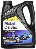 Mobil 1 112786 15W-40 Delvac 1300 Super  Motor Oil - 1 Gallon