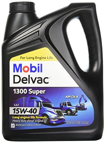 Mobil 1 112786 15W-40 Delvac 1300 Super  Motor Oil - 1 Gallon ()