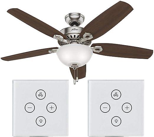 YakeHome Interruptor inalámbrico para Ventilador, lámpara de Techo ...