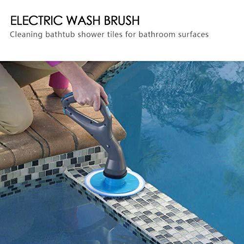 Alftek Hurricane Muscle Scrubber Cepillo de Limpieza el/éctrico para Azulejos de ba/ño