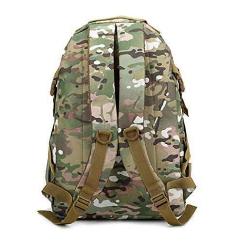 GT Mochila Bolsos de hombro del bolso de Camo para los hombres y el bolso al aire libre del alpinismo de los hombres B