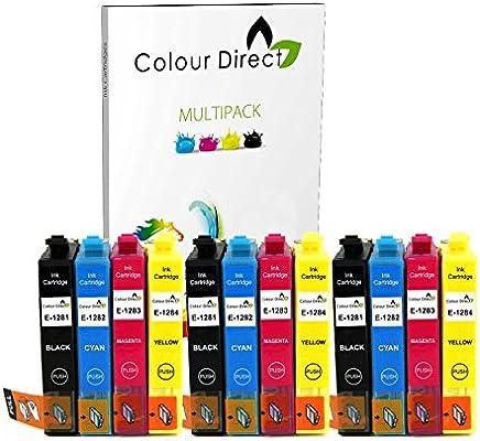 ECS Inks - 3 sets de 4 cartuchos de tinta compatibles con Epson ...