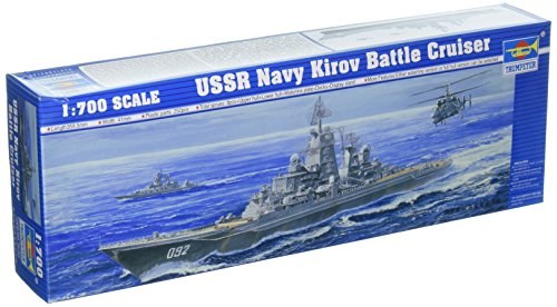 Trumpeter 1/700 USSR Kirov Soviet Navy Battle Cruiser Model Kit