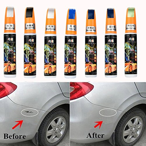 Colors Auto Car Coat Paint Pen Touch Up Scratch Clear Repair Remover Remove Tool Car Scratch Remover Fix By Makaor (As picture, Bright ()