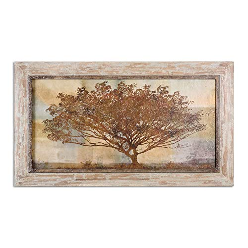 Uttermost 51100 Autumn Radiance Sepia Framed Art, Brown ()
