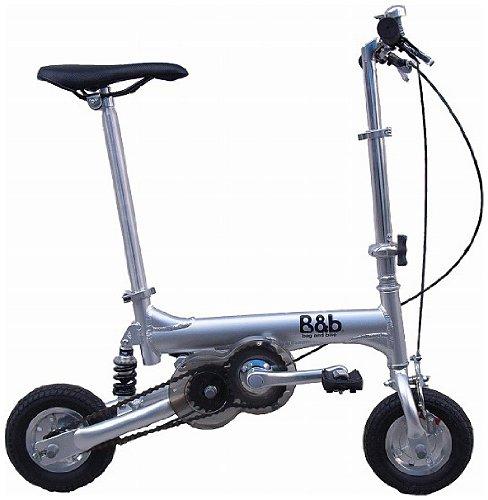 Bag&bike(バッグアンドバイク) ノーパンクタイヤ 発泡エラストマー マイクロエアコア(e-コア) を使用携帯折り畳み自転車NP08010Sオールアルミフレーム専用輪行バッグ付き B00BCDU4U0