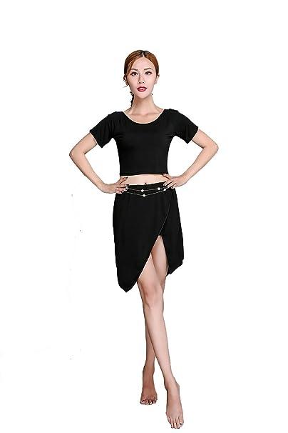 Amazon.com: Motony Mujer Manga Corta Latino/danza del ...