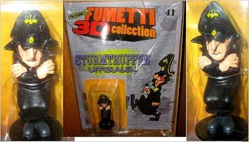 Fumetti 3D Collection Sturmtruppen Uffizialen Statua Figure No Fascicolo