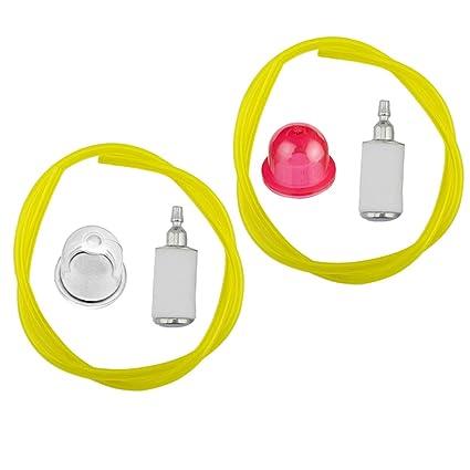 HIPA 530-035497 Primer Bulb + 530095646 Fuel Filter + 3/32