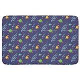Solar System Bathroom Rugs: Memory Foam (24 X 36 inch) Incrediby Soft Memory Foam Spa Quality