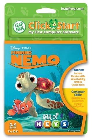 LeapFrog ClickStart Educational Software:Finding Nemo - Sea of Keys (Educational Software)