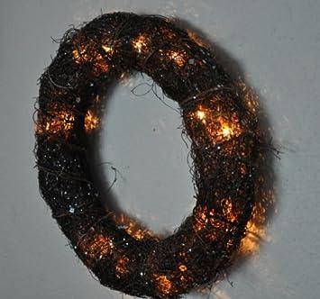 Weihnachtsbeleuchtung Kranz.Amazon De Kuheiga Kranz Kranz Mit Beleuchtung