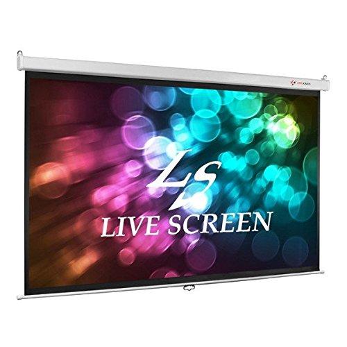 LIVE SCREEN 16:9 100インチ 手動式 プロジェクタースクリーン B01FKG9W1Q
