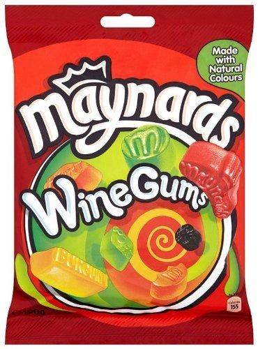 (Maynards Wine Gums Bag 190g 3 Pack)