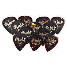 Dunlop 483P05HV Classic Celluloid Shell Guitar Picks, Heavy, 12-Pack