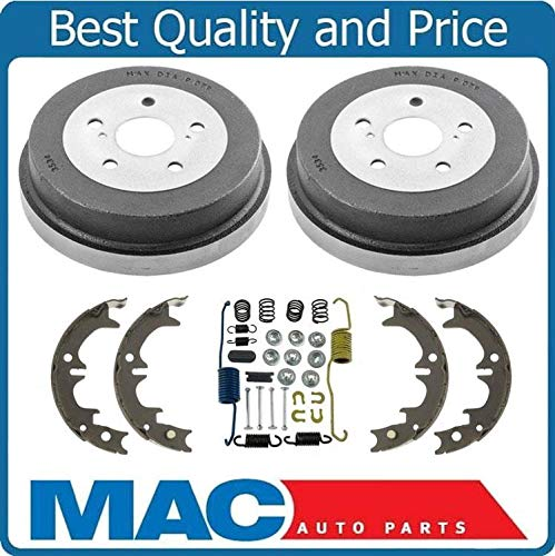 100% Brand New Rear Drums Brake Shoes Spring Kit for Toyota Camry 4pc 1992-1999 ()