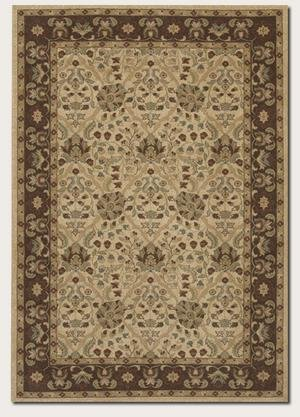 Couristan Pera Birjand 2077 Latte-Chocolate 1156 Area Rug ()