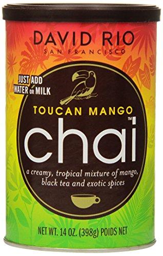 David Rio Chai Mix, Toucan Mango, 14 Ounce