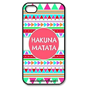 CHENGUOHONG Phone CaseThe Lion King,No Worries Hakuna Matata For Iphone 4 4S case cover -PATTERN-17