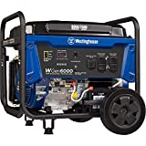 Westinghouse WGen6000 Portable Generator with Electric Start -...
