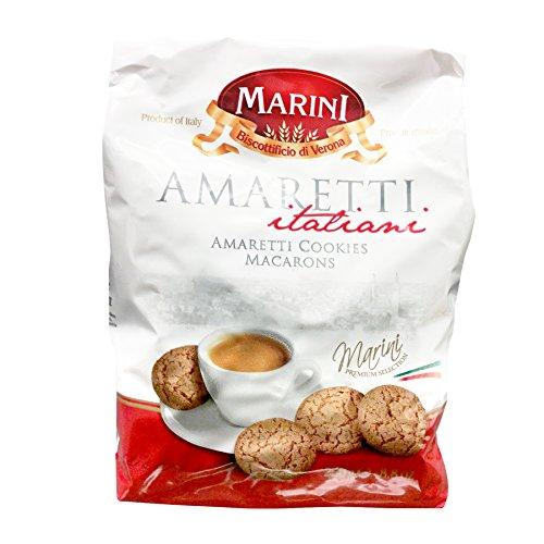 (Marini Amaretti Italian Cookies Macrons - Biscottificio di Verona Amaretti Italiani - Product of Italy)
