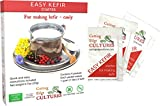 Cutting Edge Cultures Easy Kefir Starter Culture, 4 Pack, 20g