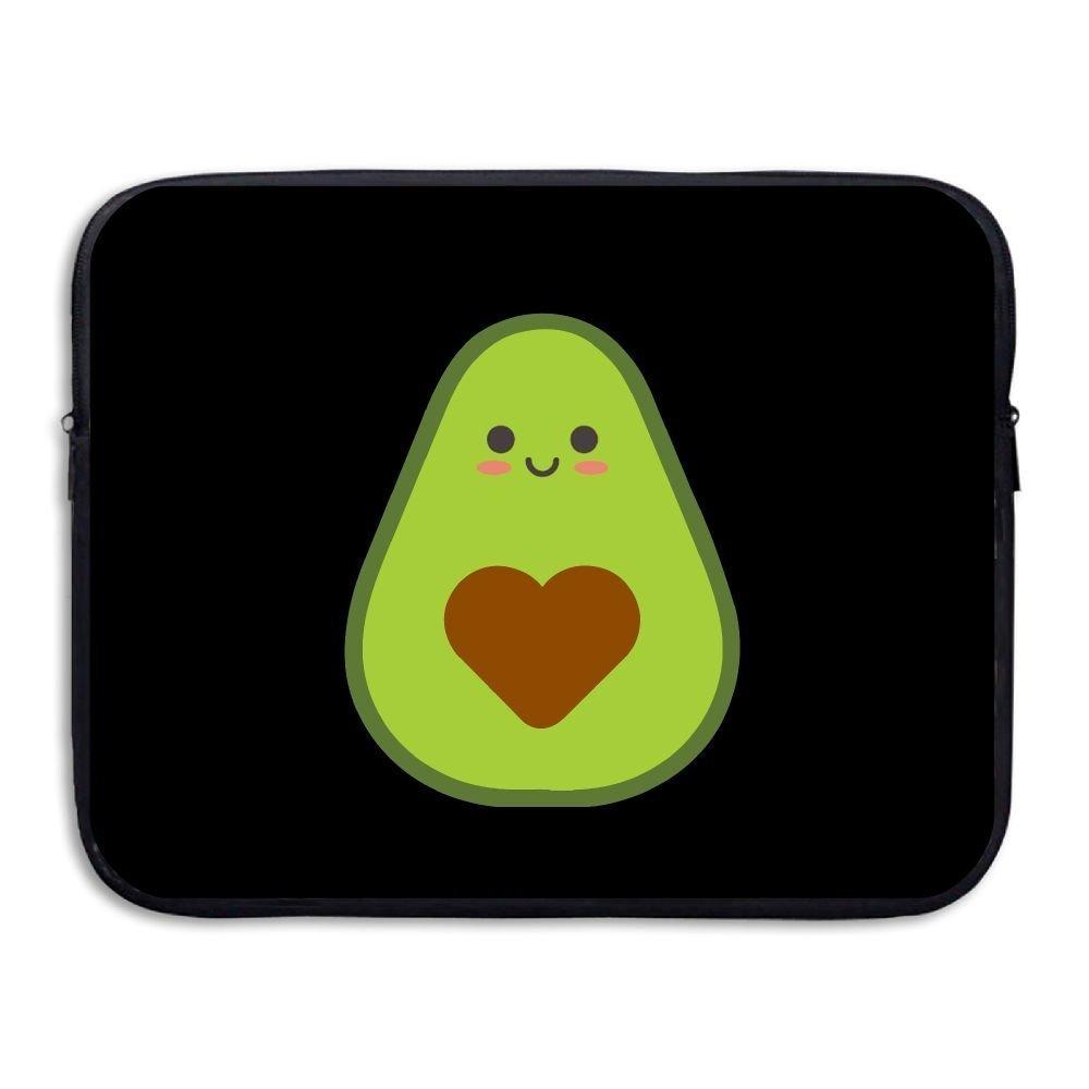 Summer Moon Fire Avocado Briefcase Handbag Case Cover For 13-15 Inch Laptop, Notebook, MacBook Air/Pro