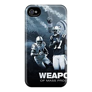 Iphone 4/4s WjY3940nwLh Indianapolis Colts Tpu Silicone Gel Cases Covers. Fits Iphone 4/4s
