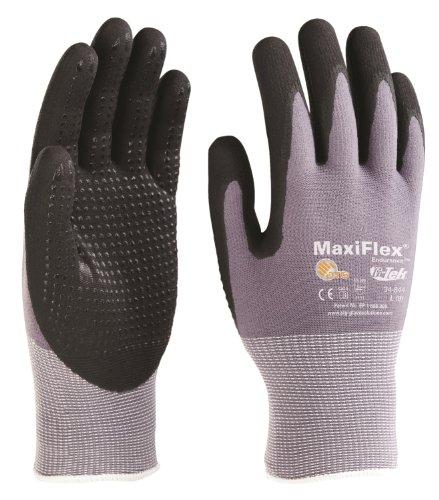 Pip Gloves G Tek Maxiflex Micro Foam Nitrile Coated