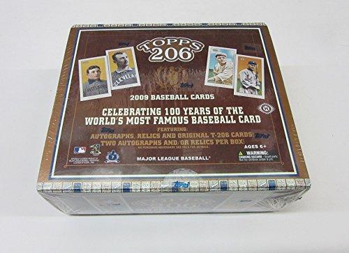 2009 Topps T206 Baseball Box (Hobby)