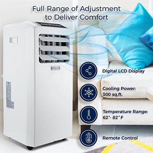 DELLA Portable Conditioner Cooling Dehumidifier