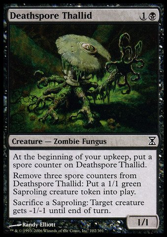 Magic: the Gathering - Deathspore Thallid - Time Spiral