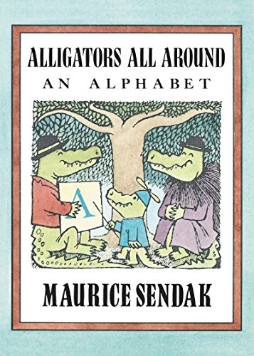 Alligators All Around Board Book: An Alphabet