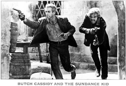 Butch Cassidy and the Sundance Kid Poster Movie B Paul Newman Robert Redford Katharine